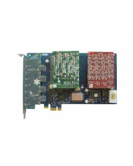 AEX800 Tarjeta Asterisk PCI-E / 8FXO