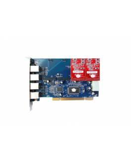 Tarjeta PCI TDM400P / 2FXO o 2FXS