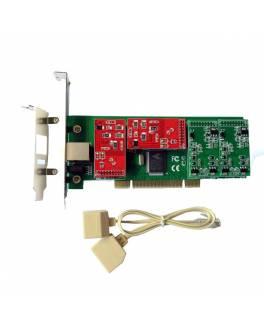 Tarjeta PCI-Express X4E-2U Low Profile/ 4FXO o 4FXS