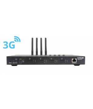 SMG4004-4WA / 4 Puertos Red 3G Gateway Synway