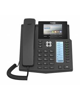 Telefono IP FAVIL X5S / 6 Lineas PoE / GIGA