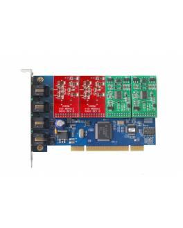 Tarjeta PCI TDM400P / 4FXO o 4FXS