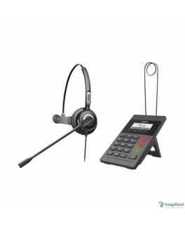 Kit FANVIL Call Center X2CP y diadema HT201
