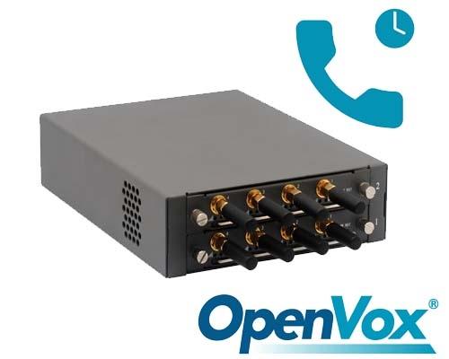 Deshabilitar Llamada en Espera OpenVox GSM
